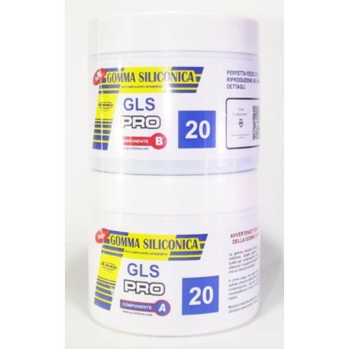 Gls Pro 20 05kg Gomma Siliconica Liquida Da Colata Milan Model